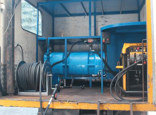 Многофункциональная установка с гидравлическим приводом МФУ-2