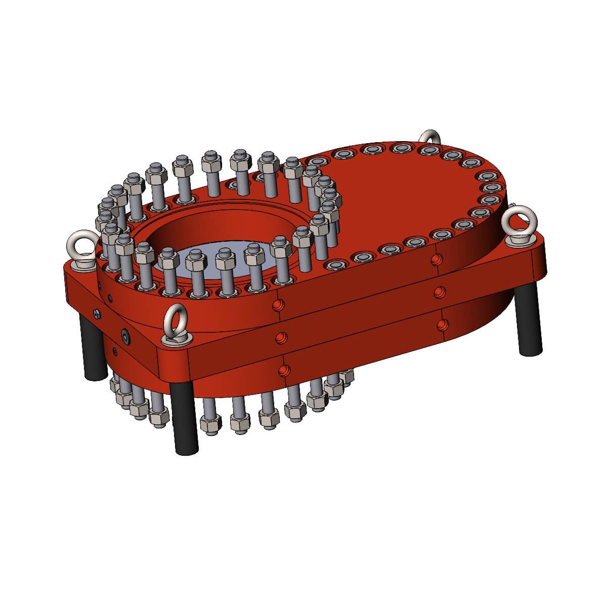 ЗПШ.500-10.0-00.00 Задвижка плоская шиберная Шибер-порт