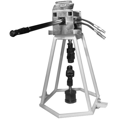 Вращатель задвижек переносной с гидравлическим приводом ВЗГ-300ГД